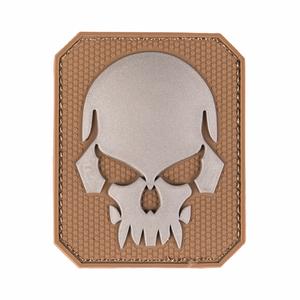 Bilde av Badge med velcro PVC - Skull