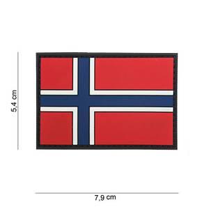Bilde av Flagg med velcro - Norge