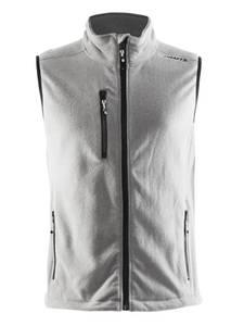 Bilde av Craft - Fleece Vest, Herre, Grey Melange