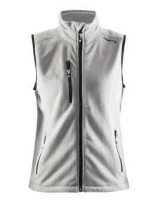Bilde av Craft - Fleece Vest, Dame, Grey Melange