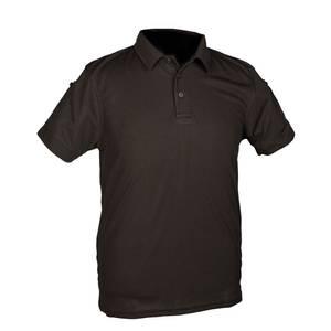 Bilde av Taktisk kortermet poloskjorte, Herre, Sort