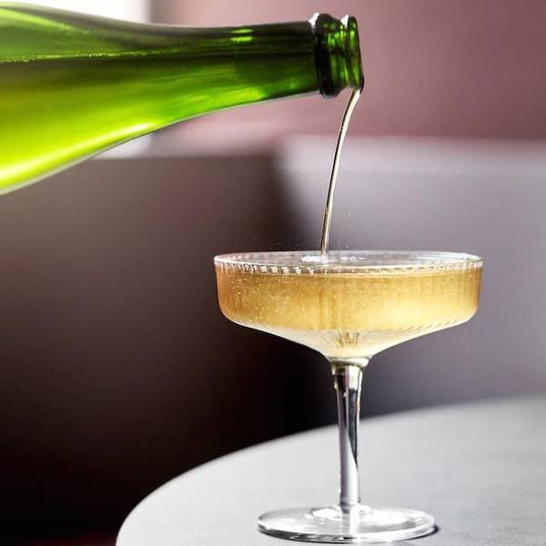 Bilde av Ferm Living Ripple Champagneglass 2-pk