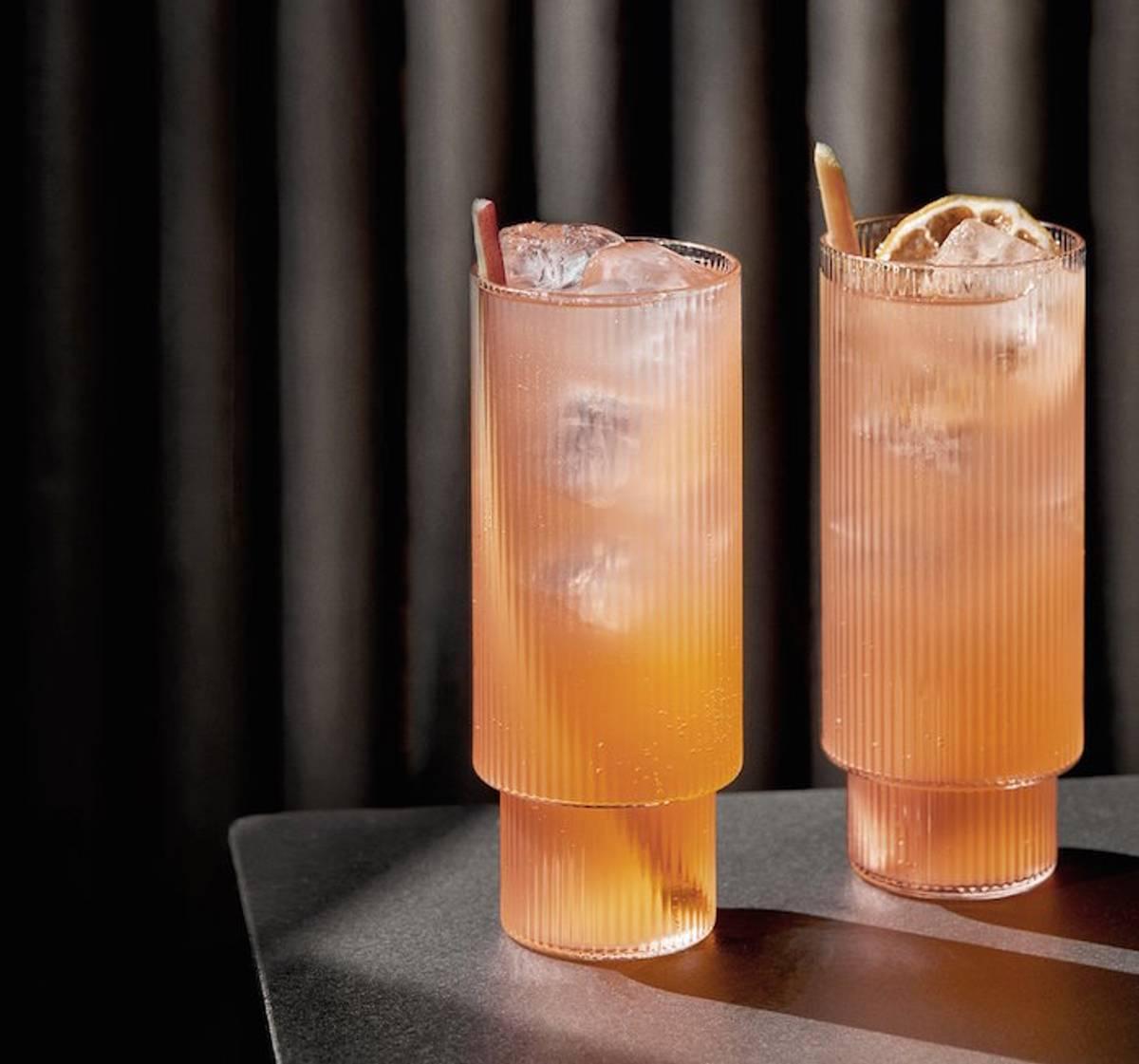 Ferm Living Ripple longdrink glass 4 pk