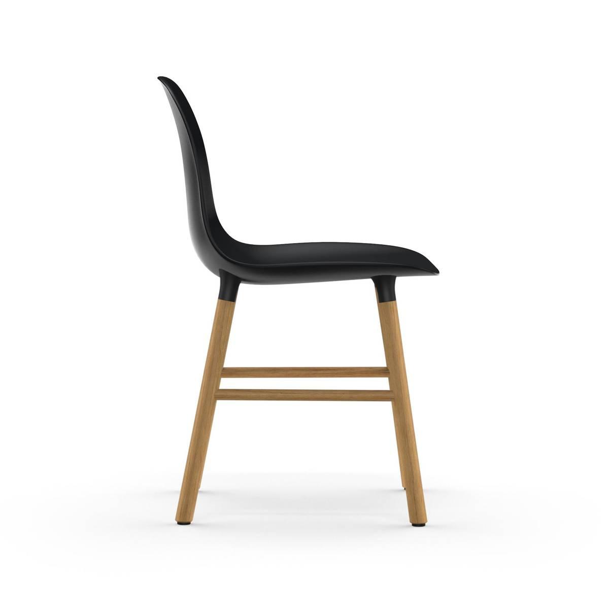 Form Chair Oak - Black