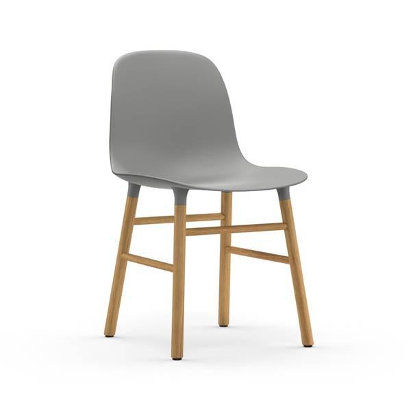 Bilde av Form Chair Oak - Grey