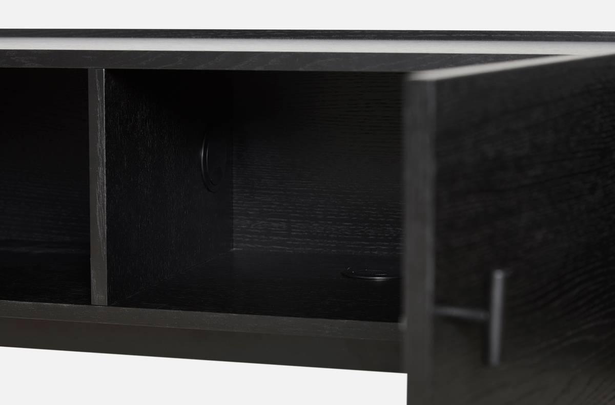 Array low sideboard (150 cm) - Svart