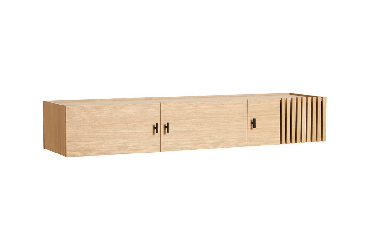Array wall-mounted sideboard (150 cm) - Eik