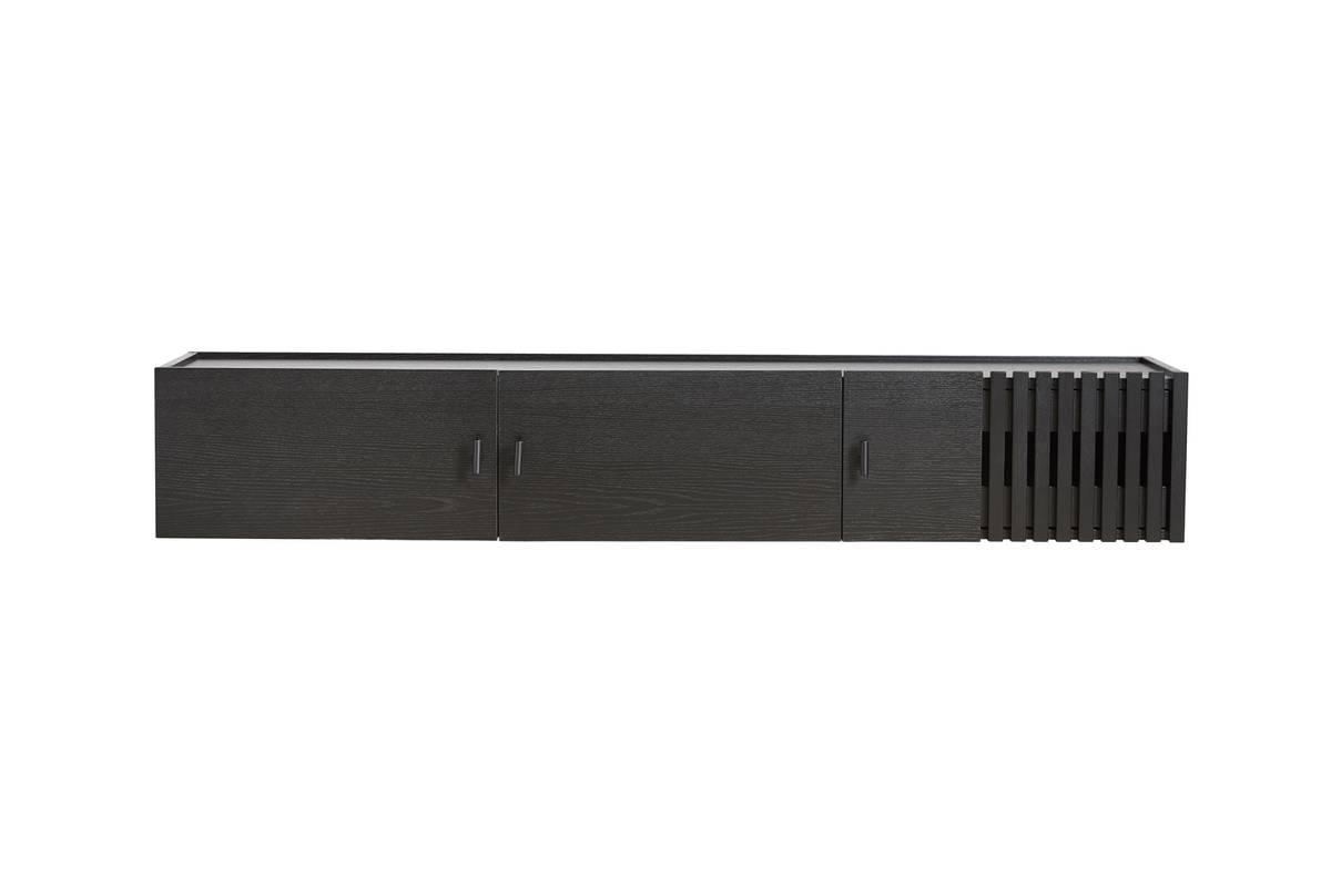 Array wall-mounted sideboard (150 cm) - Svart