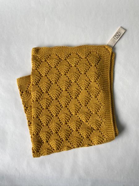 Bilde av UND Hazelnut kjøkkenhåndkle - Mustard