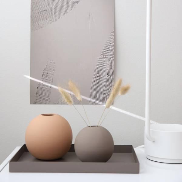 Bilde av Ball Vase - Cafe Au Lait
