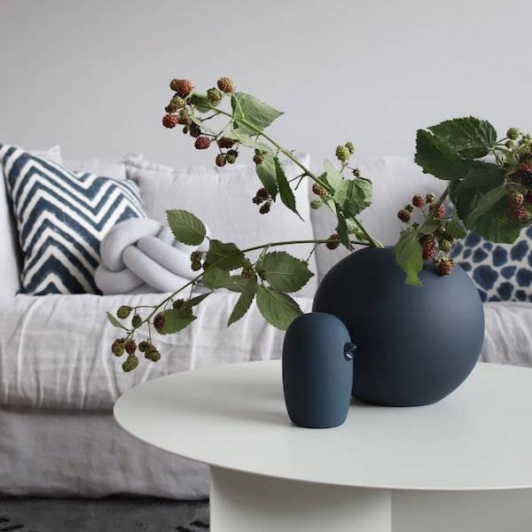 Bilde av Ball Vase - Midnight Blue