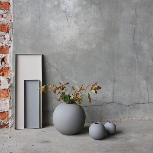 Bilde av Ball Vase - Grey