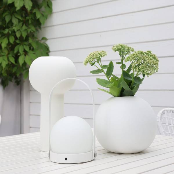 Bilde av Ball Vase - Hvit