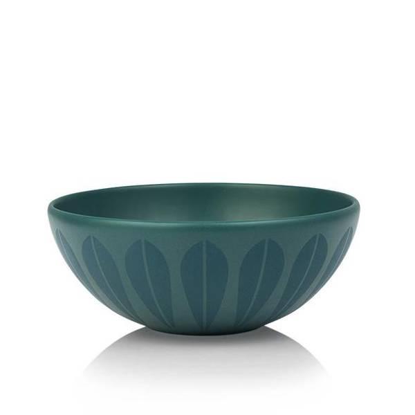 Bilde av Lotus skål - Petroleum Blå