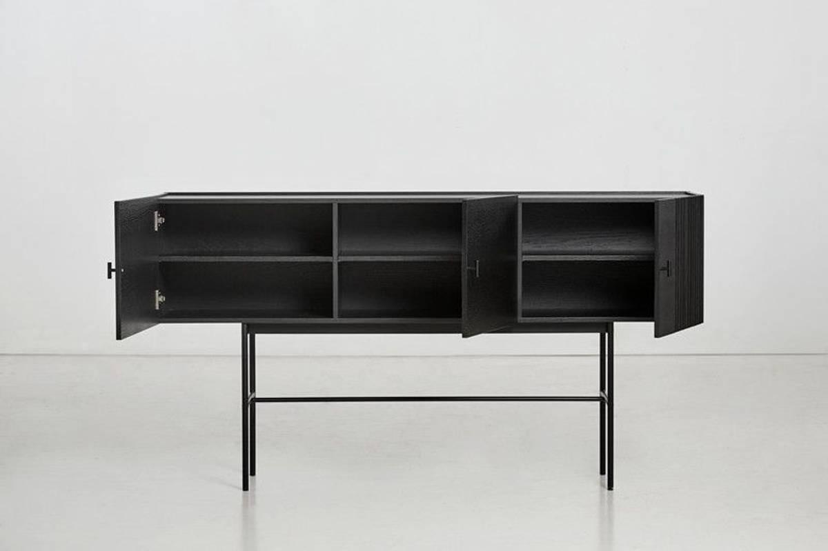 Woud Array sideboard (180 cm) - Svart