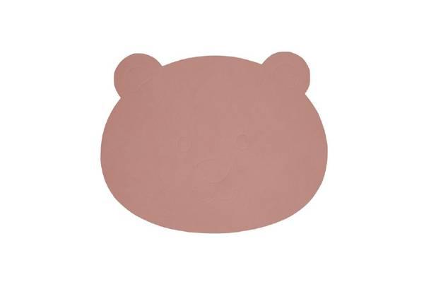 Bilde av LindDna Bear table mat - Rose