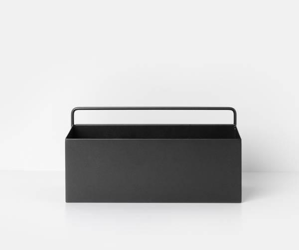 Bilde av Ferm Living Wall box Rectangle - Svart