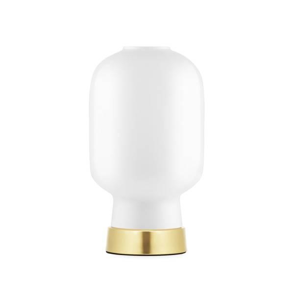 Bilde av Amp bordlampe - Hvit/Gull