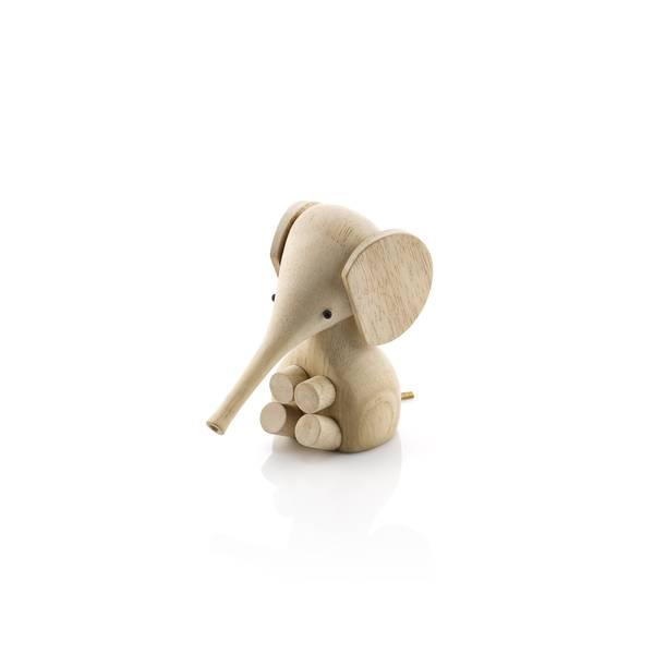 Bilde av Lucie Kaas Elefant lys tre