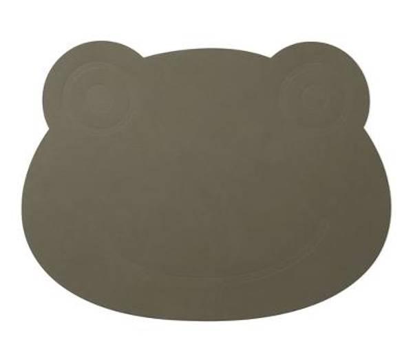 Bilde av LindDna Frog Table Mat - Army Green