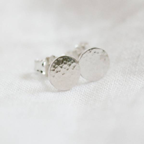 Bilde av Dugg, Øredobber sølv