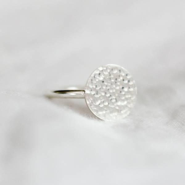 Bilde av Dugg, Ring stor sølv