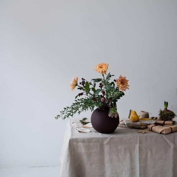 Bilde av Ball Vase - Coffee
