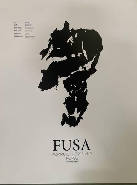 Bilde av Fusa-plakat