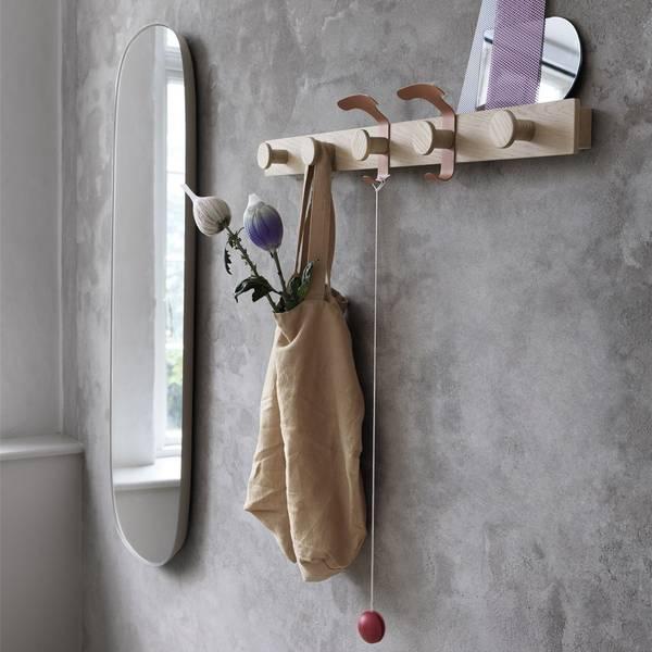 Bilde av Muuto Plank knaggrekke - Eik/brun