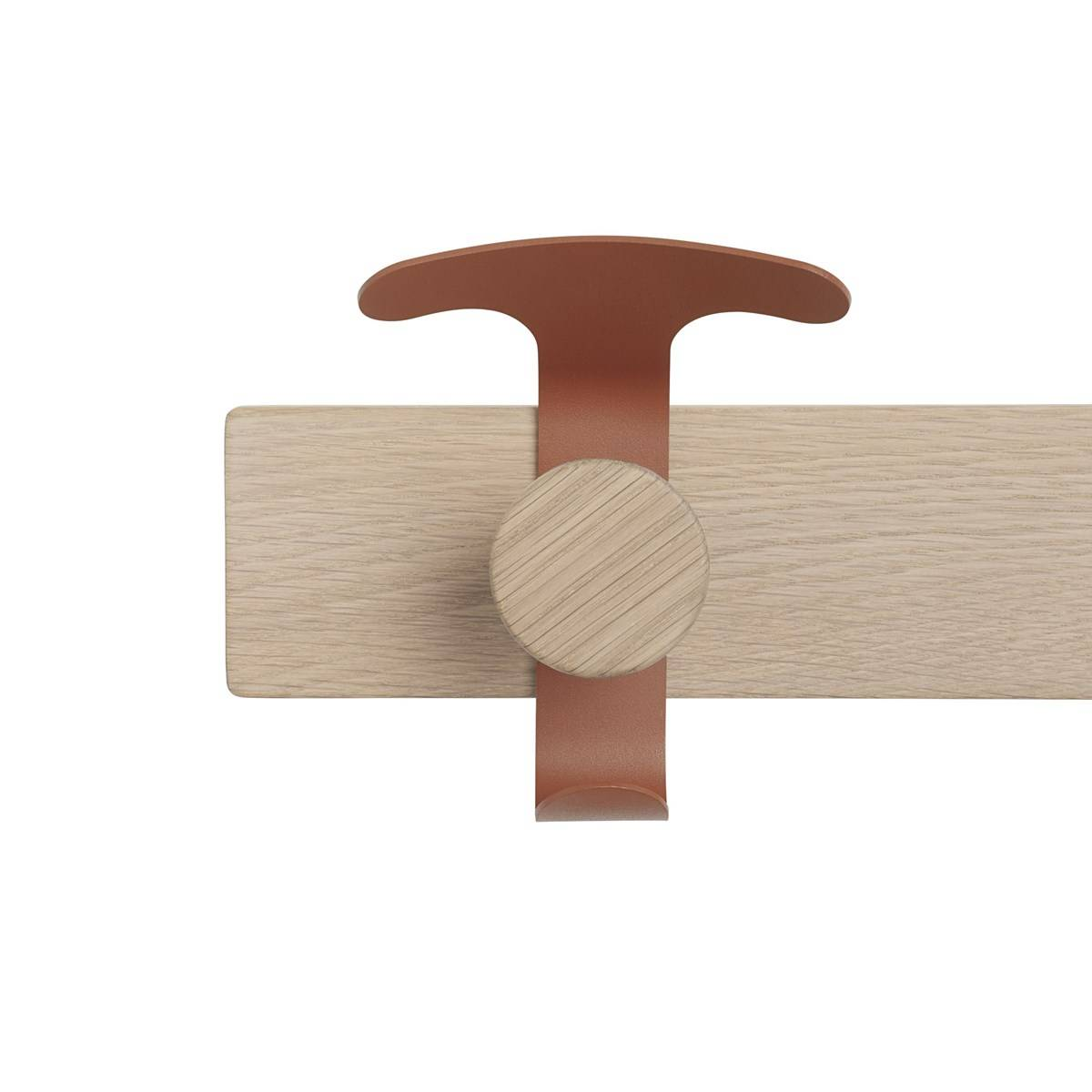 Muuto Plank knaggrekke - Eik/brun