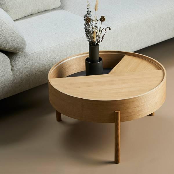 Bilde av Arc Coffee Table - Oljet eik