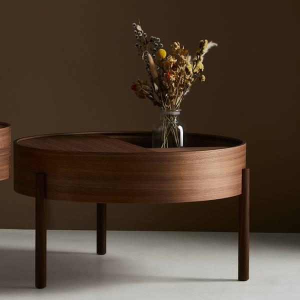 Bilde av Arc Coffee Table - Valnøtt