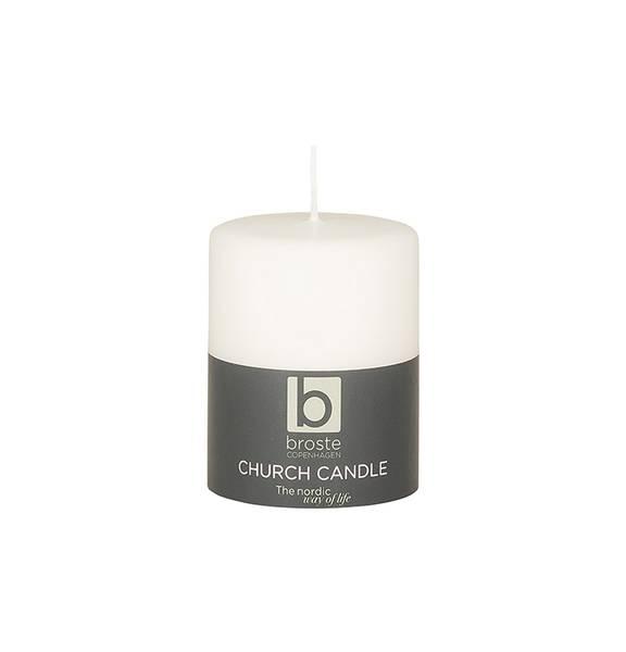 Bilde av Broste Copenhagen Church Candle - Pure White