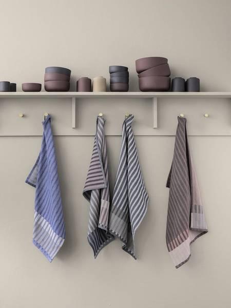 Bilde av Ferm Living Hale tea towel - Rose