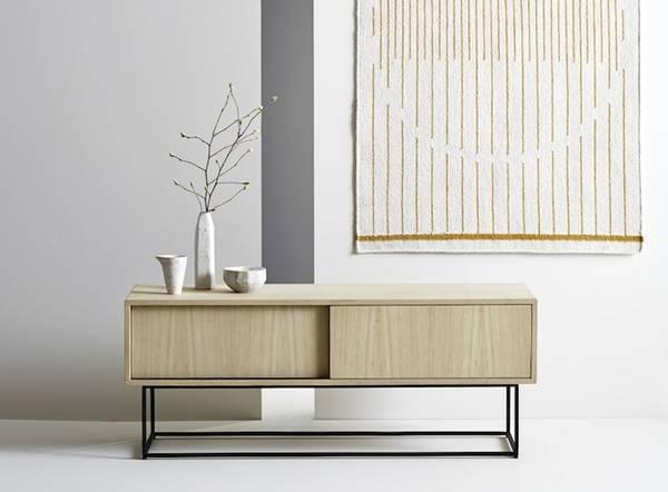 Bilde av Virka skjenk Lav - Eik - Woud Design