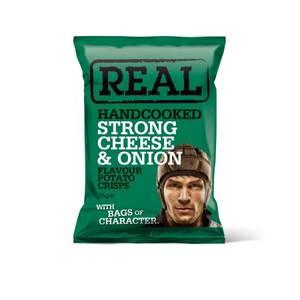 Bilde av Real Crisps Cheese & Onion 35 g