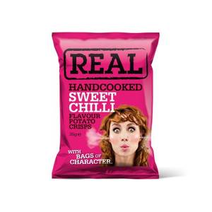 Bilde av Real Crisps Sweet Chili 35 g