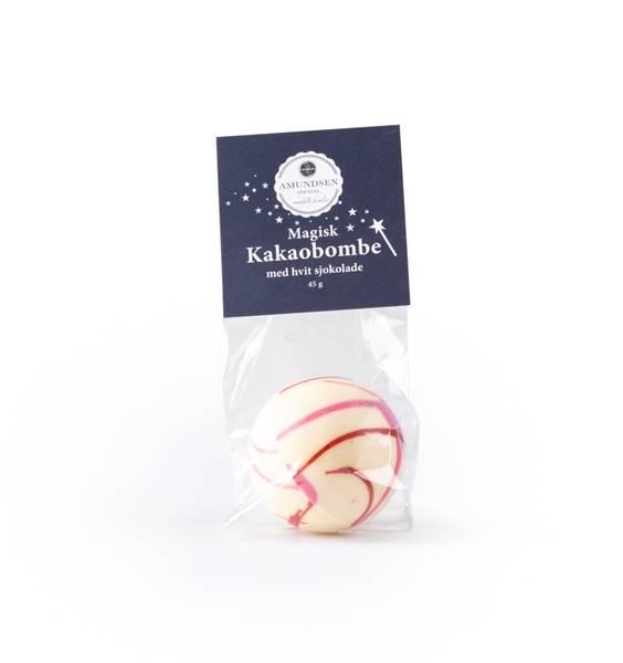 Magisk sjokoladebombe m/marshmallows - hvit sjokolade