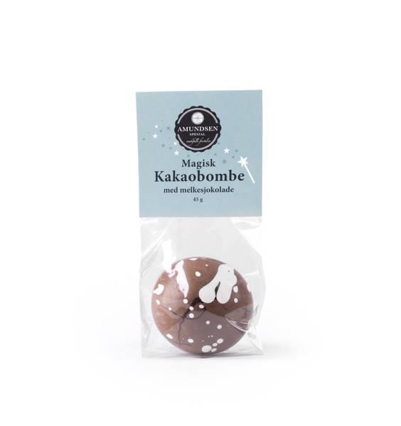 Magisk kakaobombe m/marshmallows - melkesjokolade