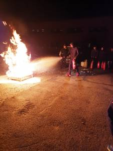 Bilde av Brannøvelse m/slukking