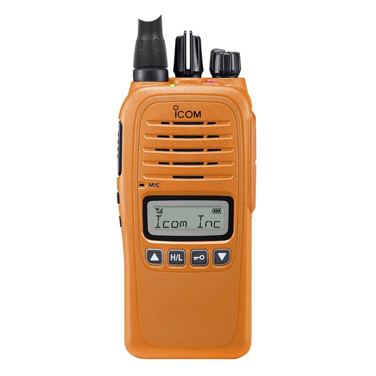 Icom ProHunt 2 Compact - Orange jaktpakke #NOR, inkl. eske, bat