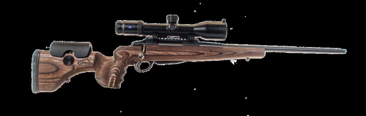 GRS Hunter LIGHT bjørkelaminat - Rifleskjefte
