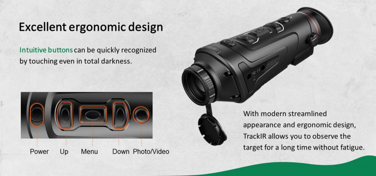 GUIDE TrackIR 50 HD termisk kikkert