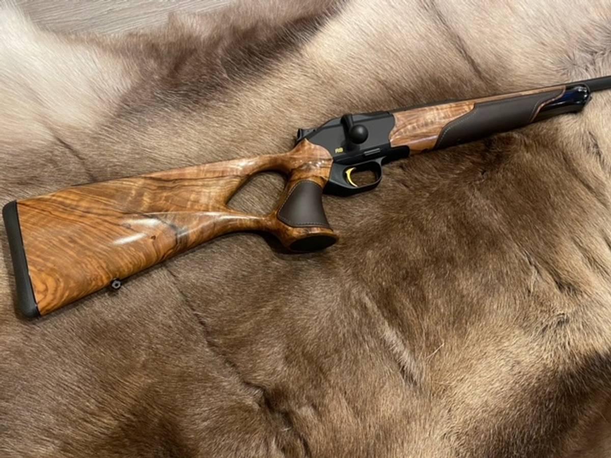 Blaser R8 Success tre Lær - Grad 5 - Komplett rifle
