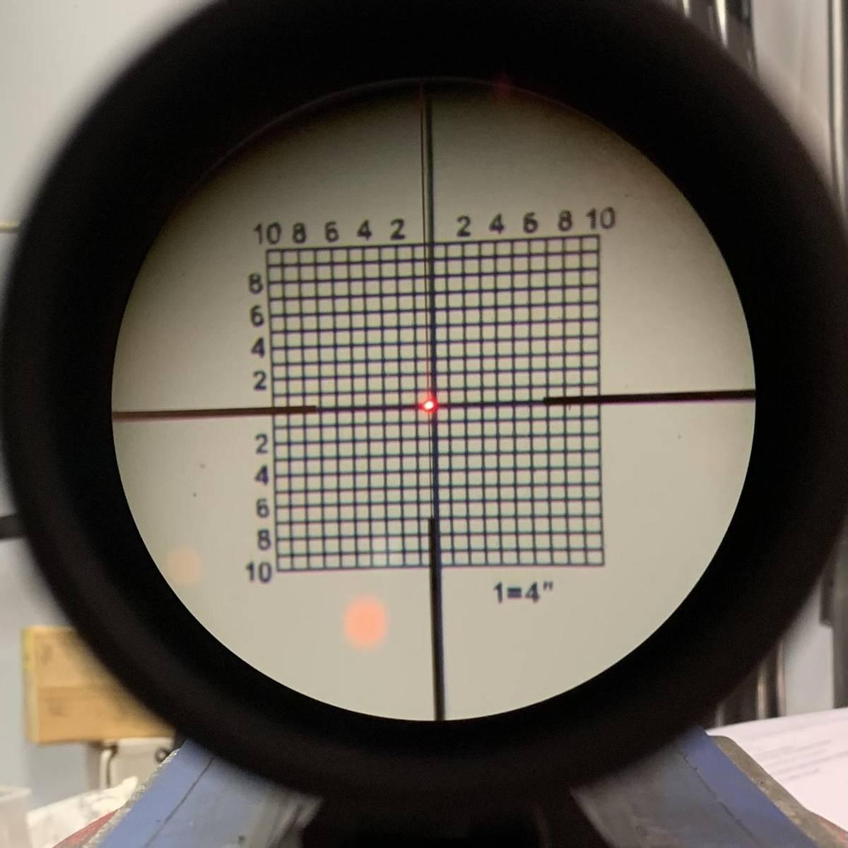 VECTOR Boresighter Optisk innskytning