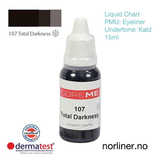 Bilde av MT-DOREME #107 Total Darkness til PMU Eyeliner