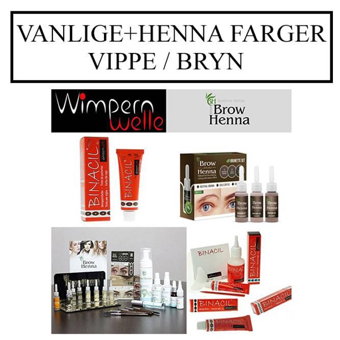 Bilde av VANLIGE+HENNA Farger Vippe/Bryn
