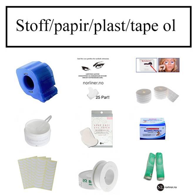 Bilde av Stoff / papir / plast / tape ol