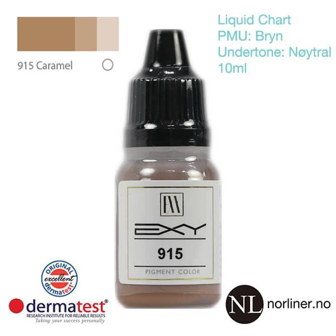 Bilde av MT-EXY #915 Caramel til PMU Bryn [Liquid Chart]