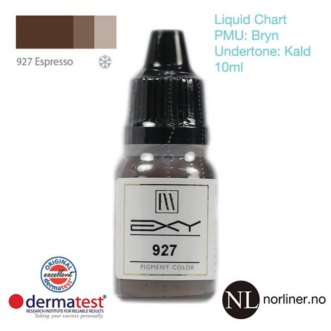 Bilde av MT-EXY #927 Espresso til PMU Bryn [Liquid Chart]